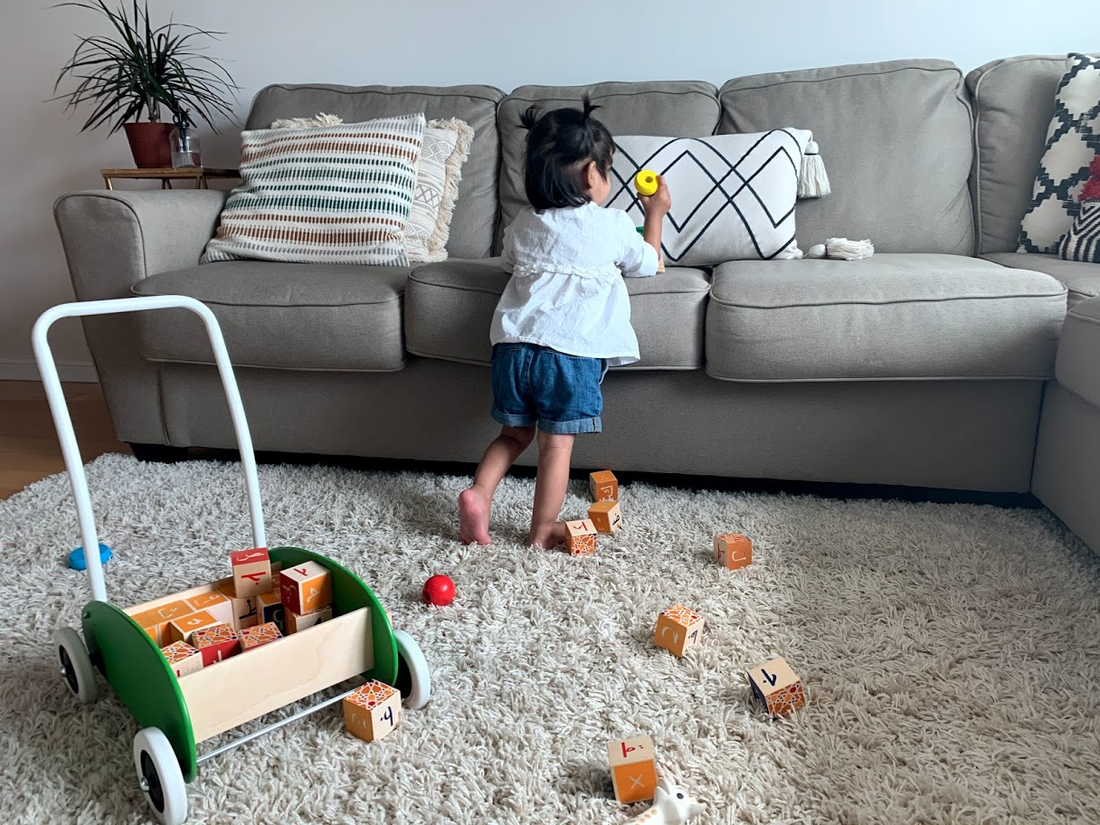 5 Ways To Keep Tidy With a Baby