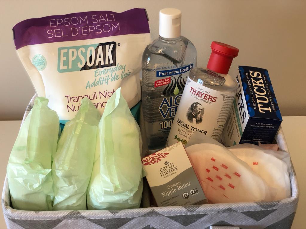 DIY Postpartum Kits