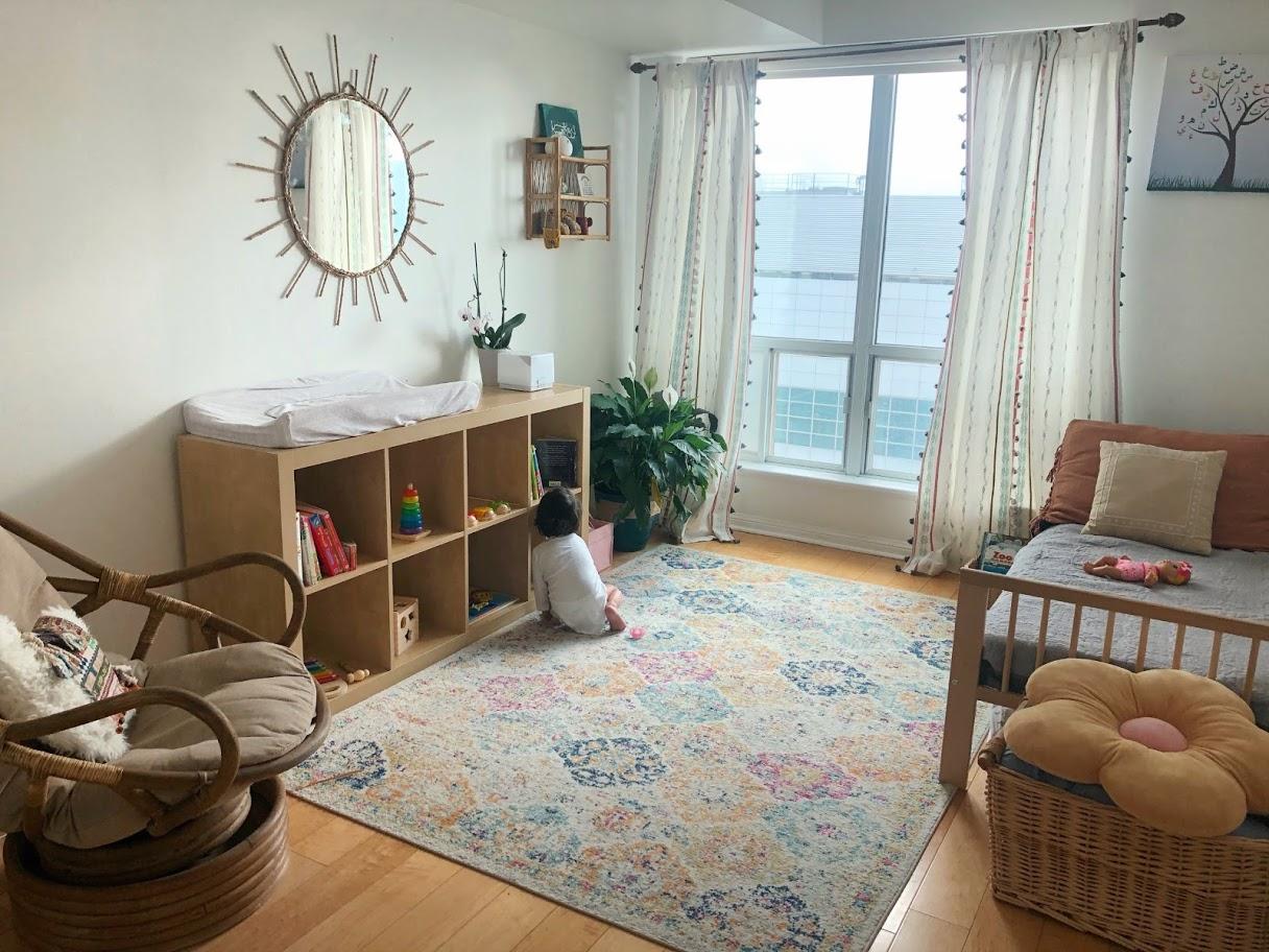 Yusra's $33 Toddler Room Makeover!
